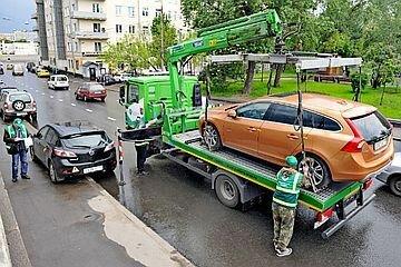 Штраф за эвакуацию автомобиля на штрафстоянку