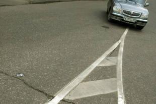 Штраф за нарушение дорожной разметки
